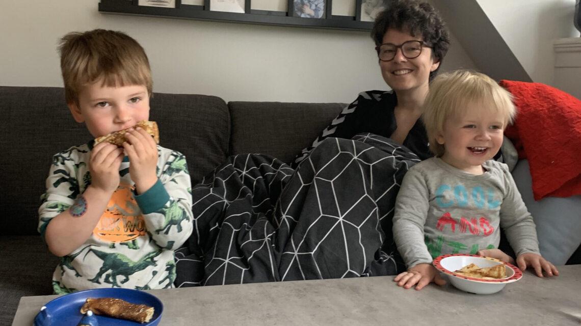 Udskrivelse og de første dage hjemme