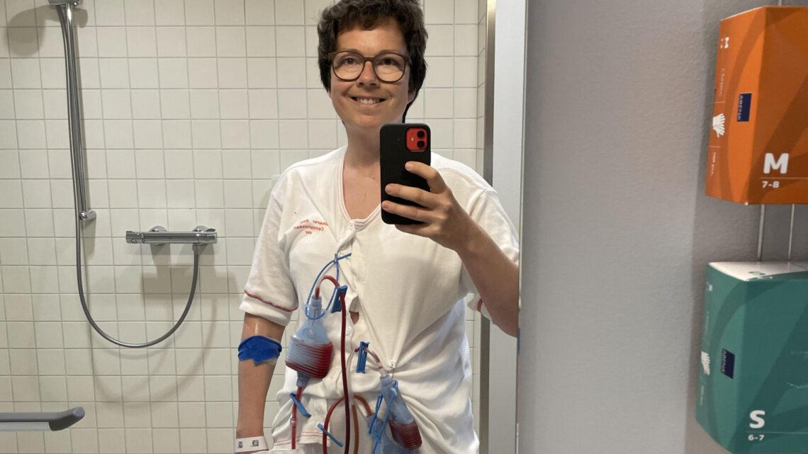 De første dage efter operationen